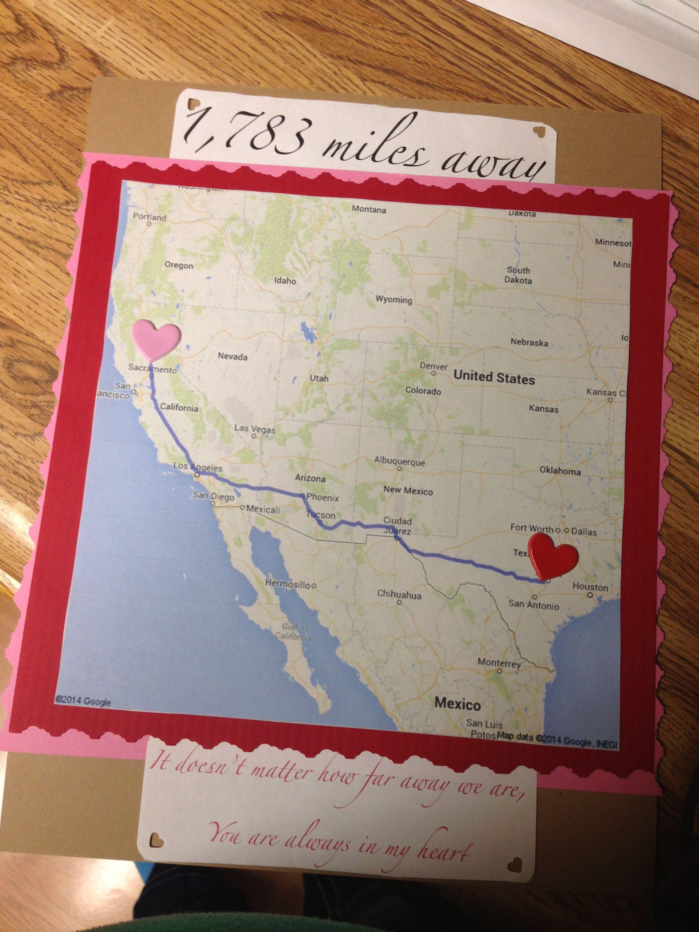 1,735miles long distance gift ideas. hahaaaaaa Gambar