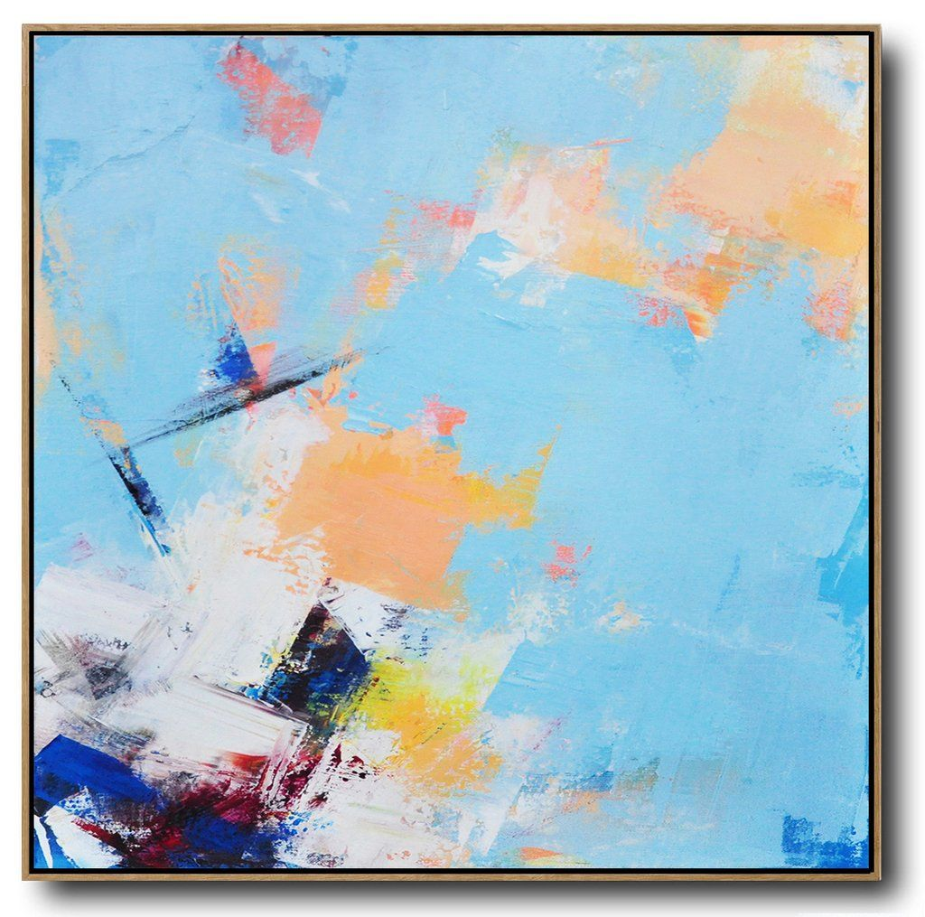 Palette Knife Contemporary Art L63a Acrylic Painting