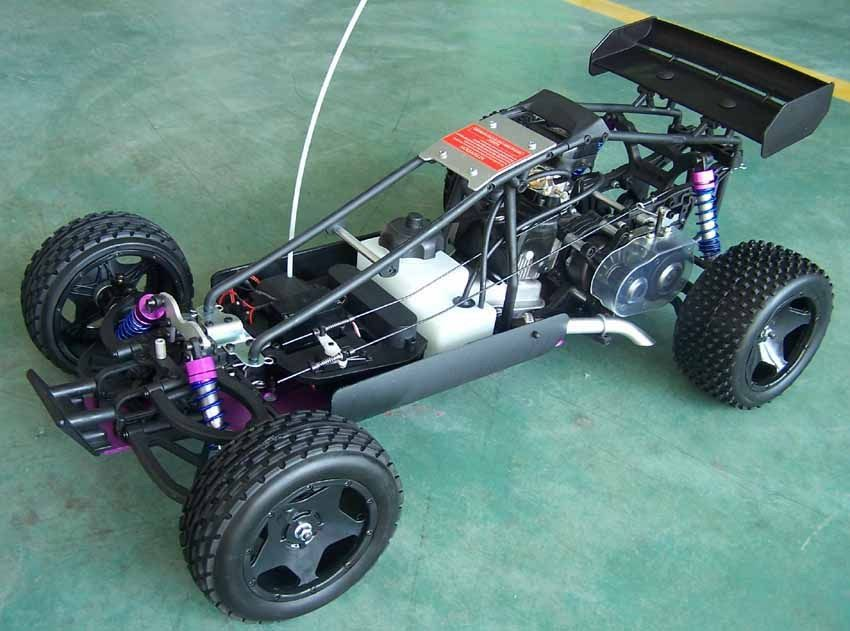 Start Rc Gas Powered Cars