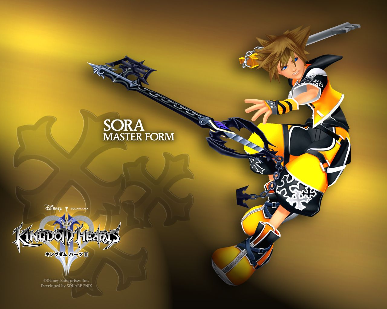 Kingdom Hearts Sora Master Form | Kingdom Hearts Sora | Pinterest