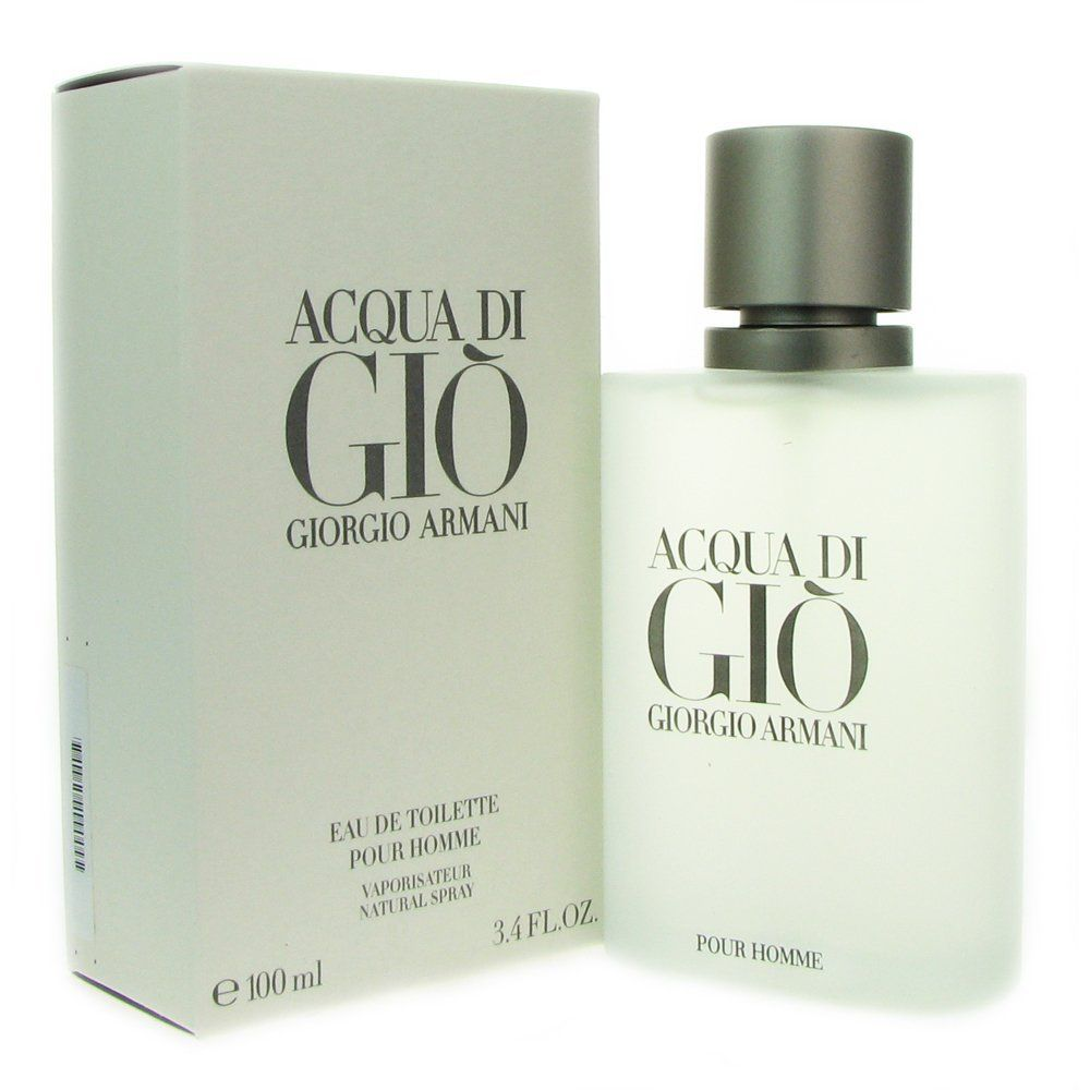 acqua di gio by giorgio armani for eau de toilette spray 3 4 ounces aqua di