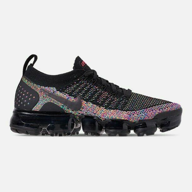58c15c81f1b16 BRAND NEW Nike Air Vapormax Flyknit 2 (Black   Racer Pink) Women s Sneakers  -