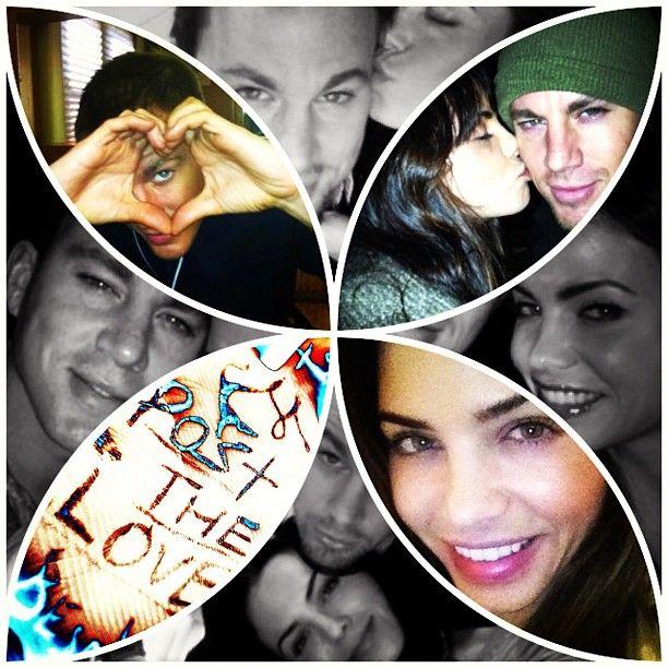 Channing Tatum y Jenna Dewan, Mi socia :3