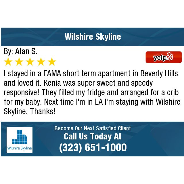 I Stayed In A FAMA Short Term Apartment In Beverly Hills