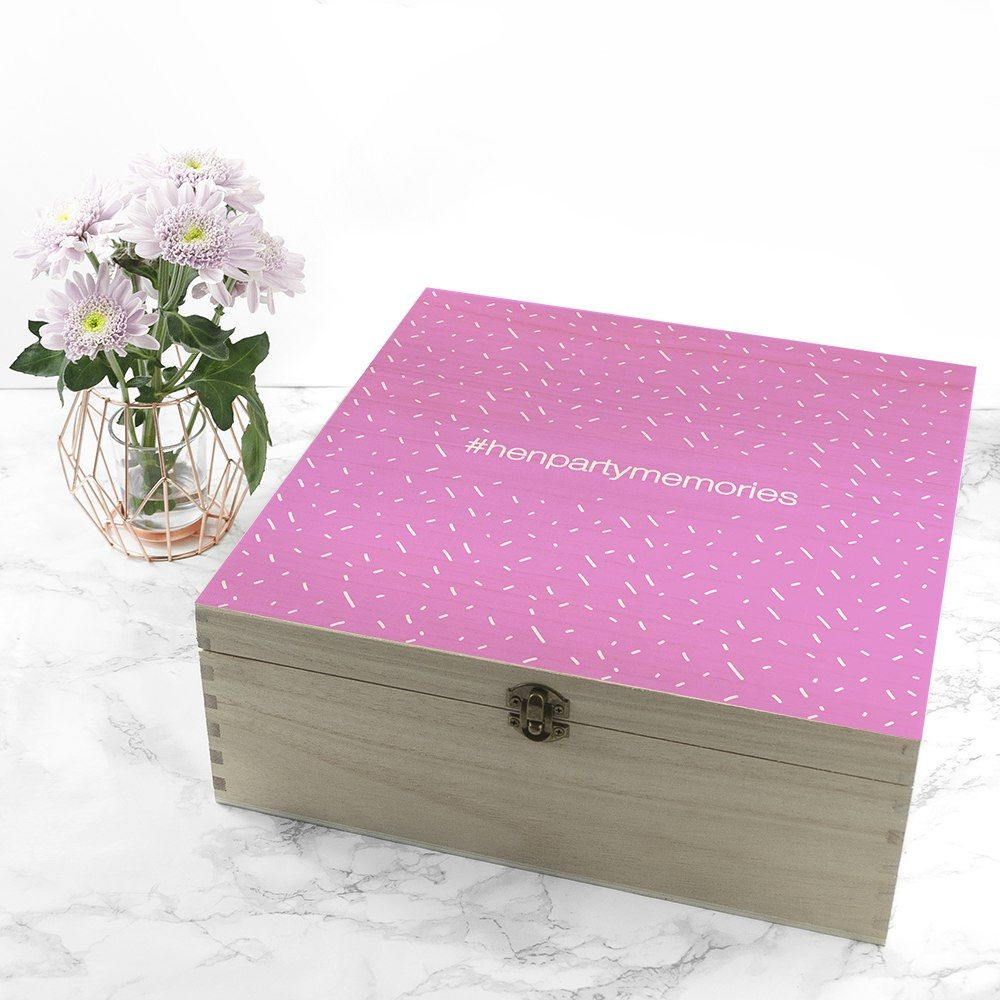 Personalised The Ulimate Girly Pink Box Pink box