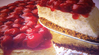 Diabetic Enjoying Food   Food, Cheesecake, Cherry cheesecake