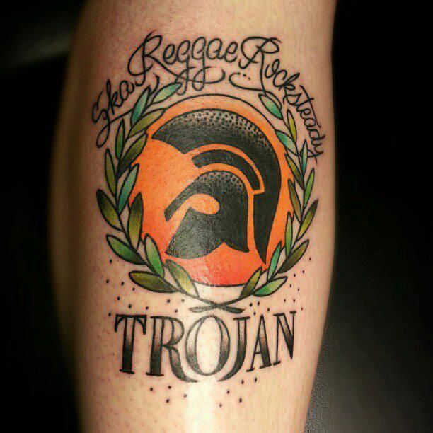 class trojan records ink rep yer roots tats and twos pinterest roots tattoo and. Black Bedroom Furniture Sets. Home Design Ideas