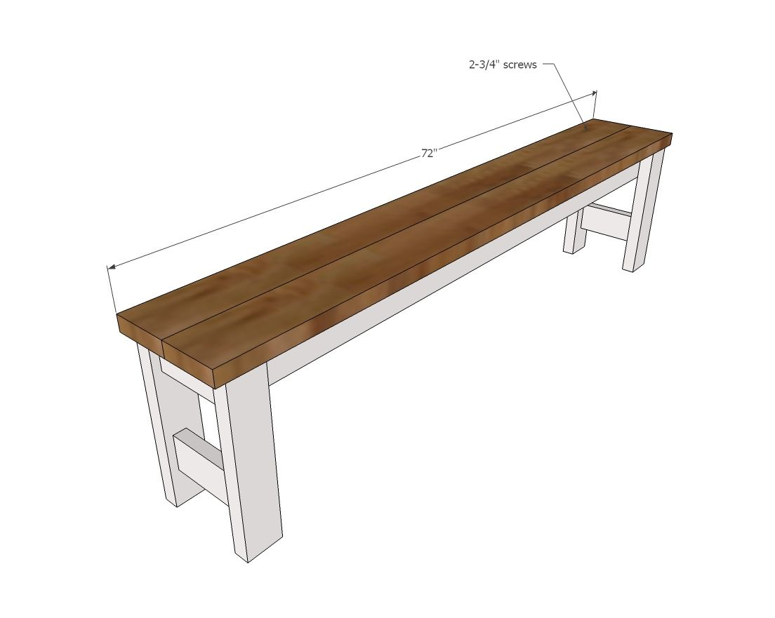 Awe Inspiring Beginner Farm Table Benches 2 Tools 20 In Lumber Ana Squirreltailoven Fun Painted Chair Ideas Images Squirreltailovenorg