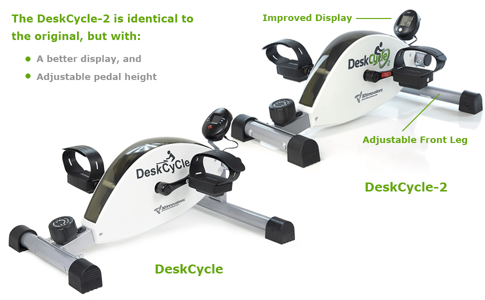 Deskcycle Best Under Desk Bike 2019 Review With Images