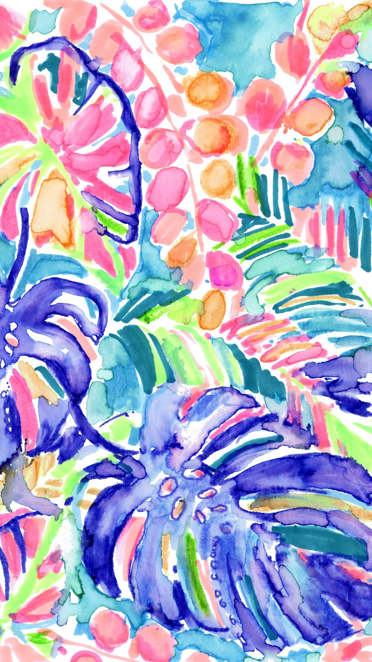 Lilly Pulitzer Monstera Tropical Leaves Lilly Pulitzer Iphone