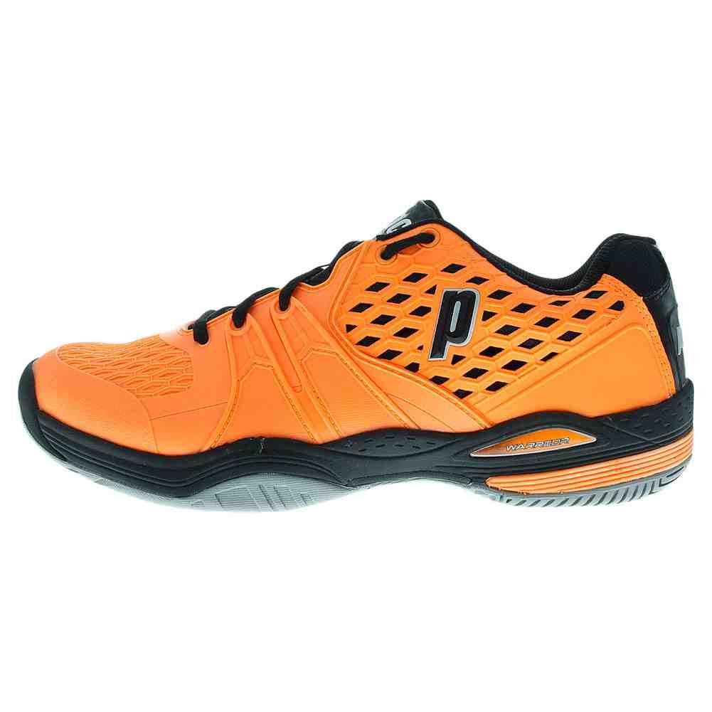 Orange and Black Tennis Shoes