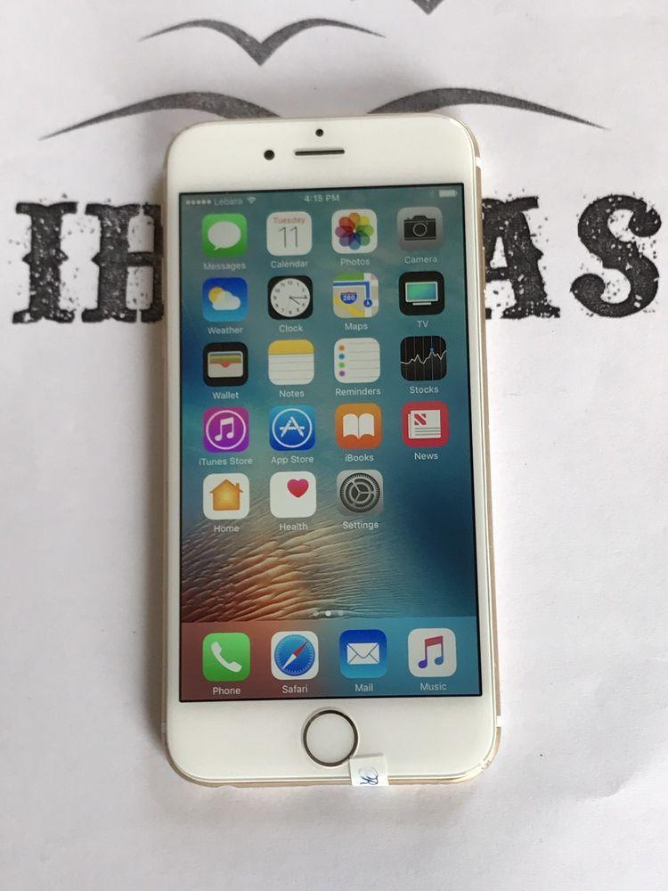 Apple Iphone 6 16gb Gold Unlocked Smartphone In 2020