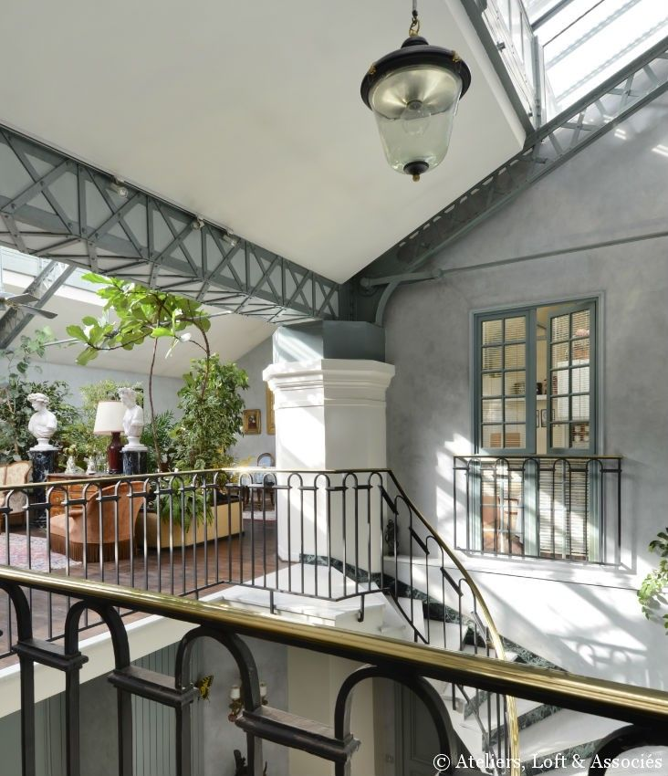 Stunning industrial loft in Paris | Le magazine Ateliers Lofts ...