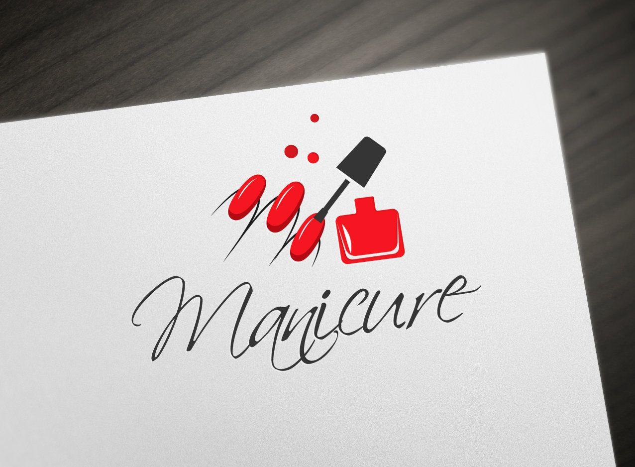 Manicure Logo, Salon de belleza Logo, Premade Logo, Nails