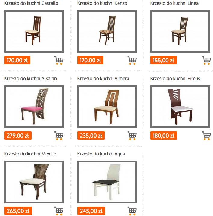 Krzesła Drewniane Adidar Adidar Art Shopping