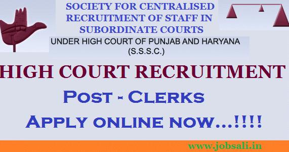 punjab and haryana high court peon recruitment 2017