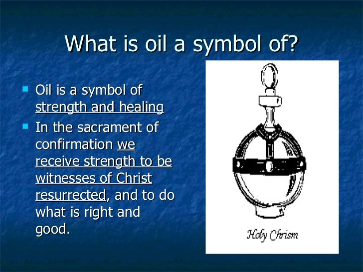 Sacrament of Confirmation | Catholic symbols