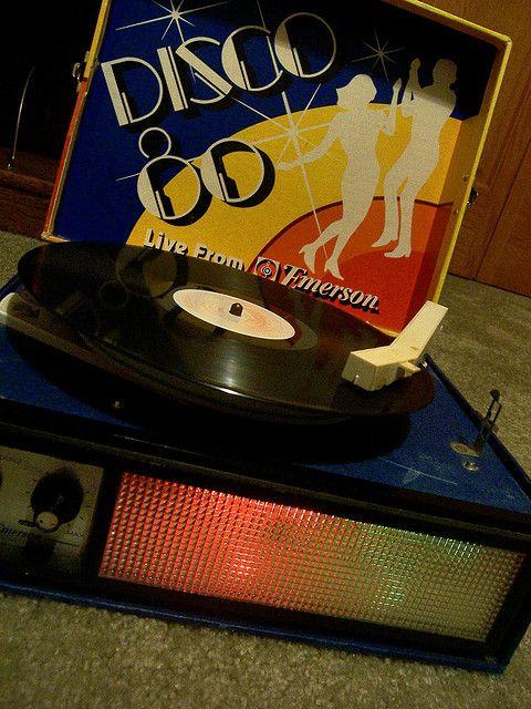 Disco 80 Record Player With Lights Disco 80 Disco Disco Lights