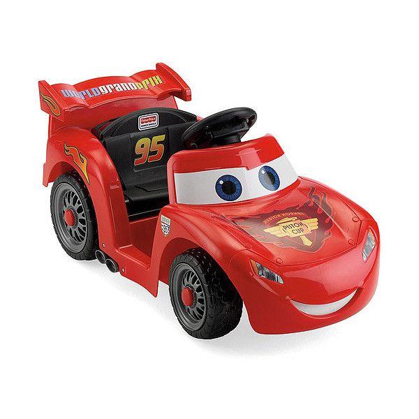 Disney Cars Power Wheels Lil' Lightning McQueen 6-Volt ...