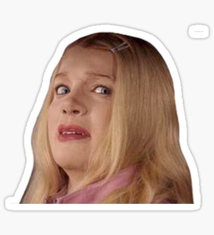 Funny Movie Stickers Meme Stickers White Chicks Hydroflask Stickers
