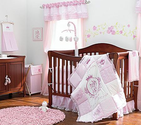 Omg In Looooove With This Quilt Princess Nursery Baby