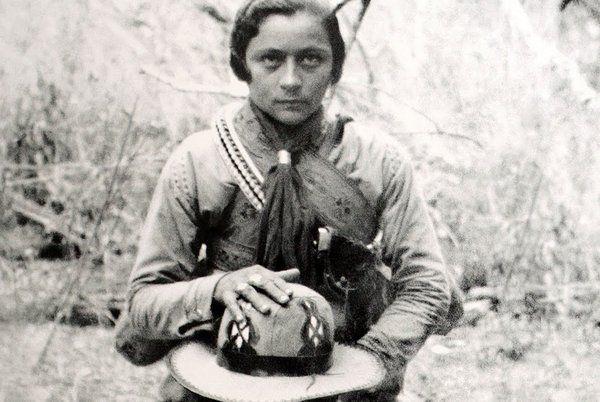 Maria Gomes Oliveira Known As Maria Bonita Was 18 Years Old
