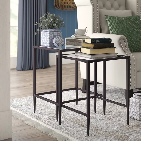 somerdale 2 piece nesting table in 2020 nesting end on exclusive modern nesting end tables design ideas very functional furnishings id=35251