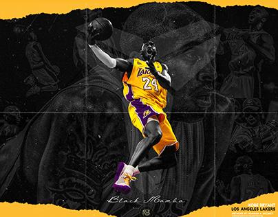 """Check out new work on my Behance portfolio """"Kobe Bryant"""