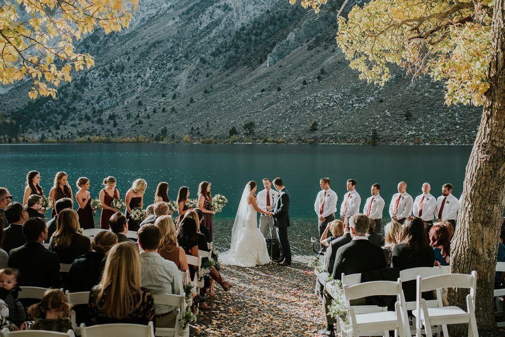 Weddings Convict Lake Resort Lake Wedding Venues Lake Resort Eastern Wedding
