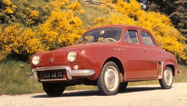 France 1957 1960 Renault Dauphine Reigns Renault Dauphine Renault 4
