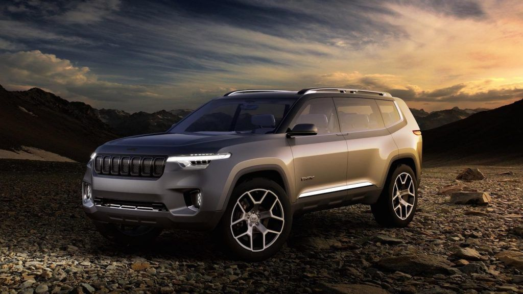 New 2020 Grand Cherokee Overview Concept Car 2019 車 写真
