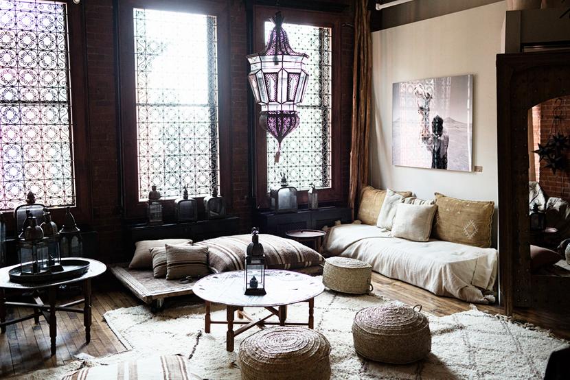 Marokkaanse woonkamer voor theeceremonie | Pinterest - Theeceremonie ...