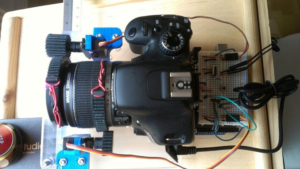 Camera Time Lapse Focus And Zoom Control With Images Arduino