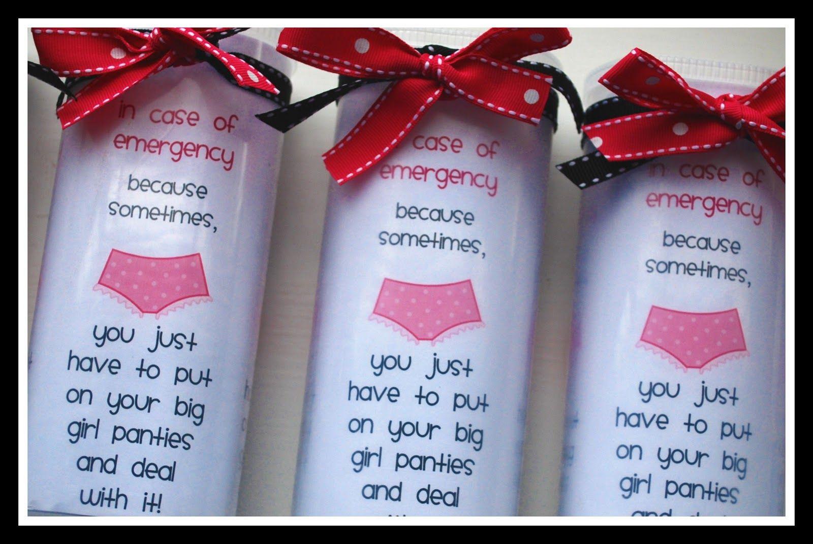Big girl pantie gift ideas 50th birthday gag gifts