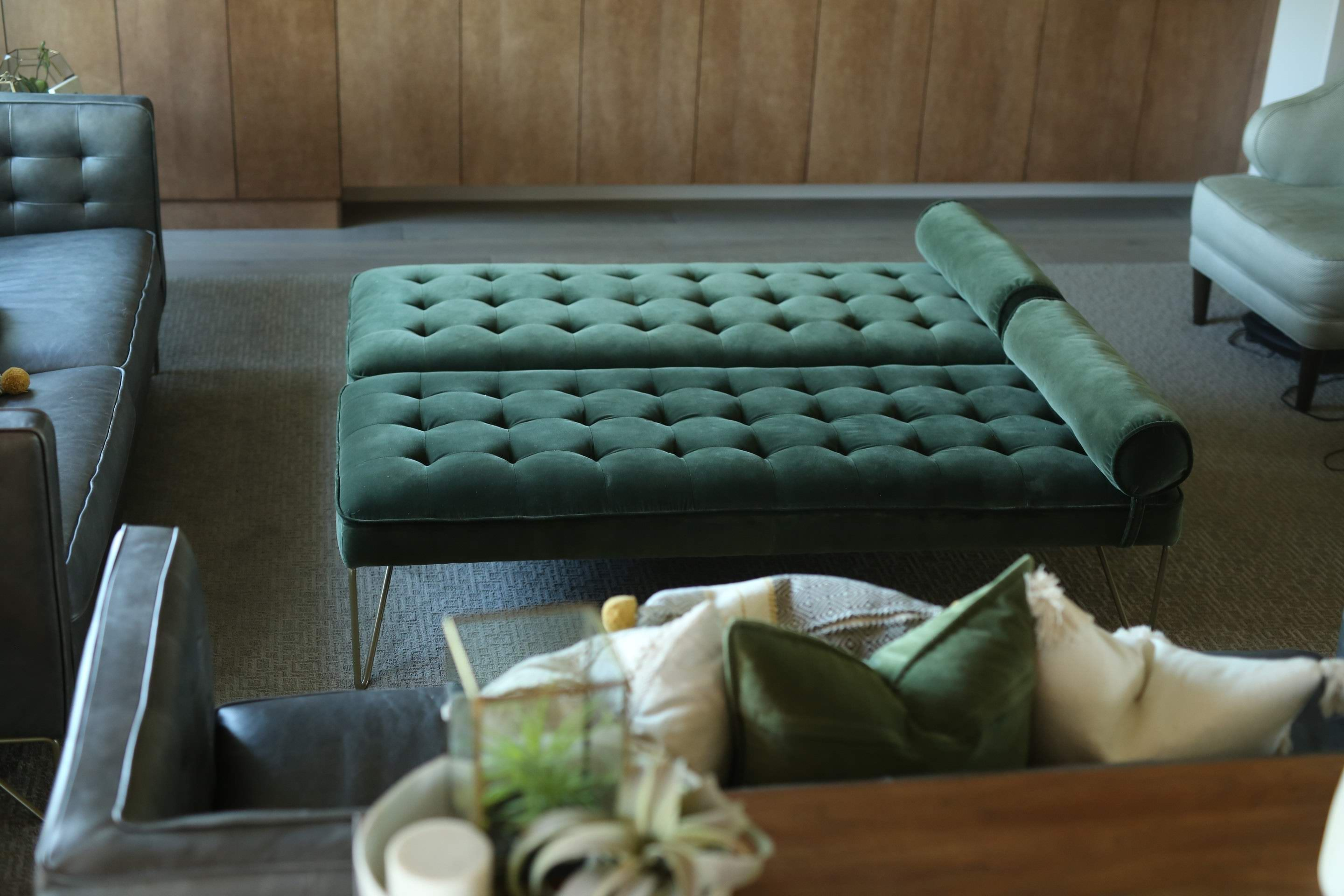 Velvet Emerald Green And Modern Find More Pieces Like This At