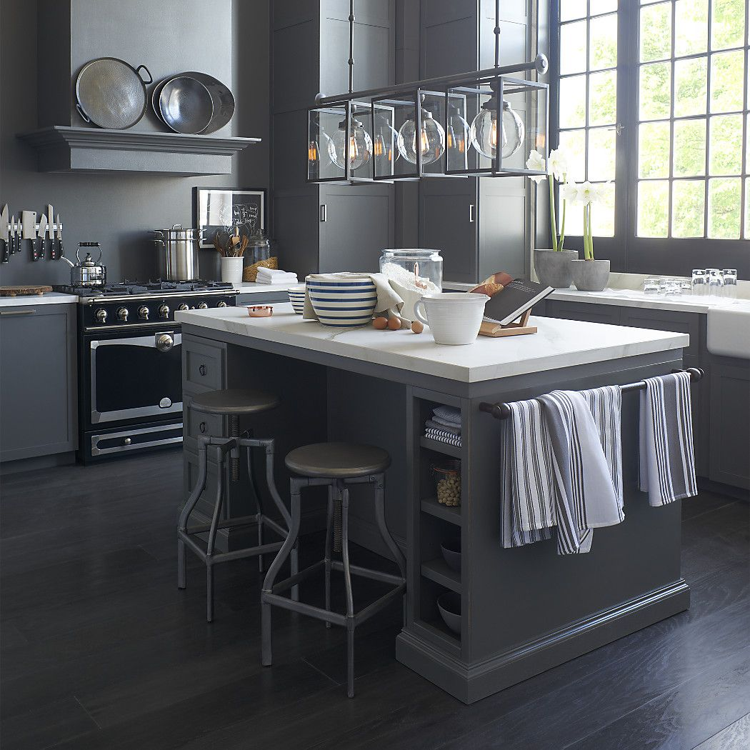 Shop Cameo 72 Large Kitchen Island Incredibly Durable The Porcelain Top Has The Look Of Natural Marbl Kitchen Design Luxury Kitchen Design Kitchen Layout