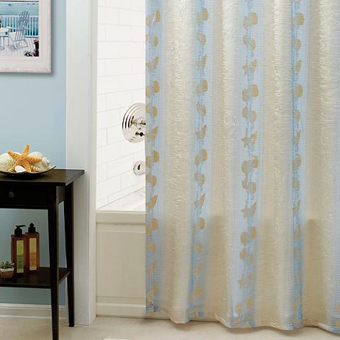 San Tropez Shower Curtain Shower curtain, Curtains