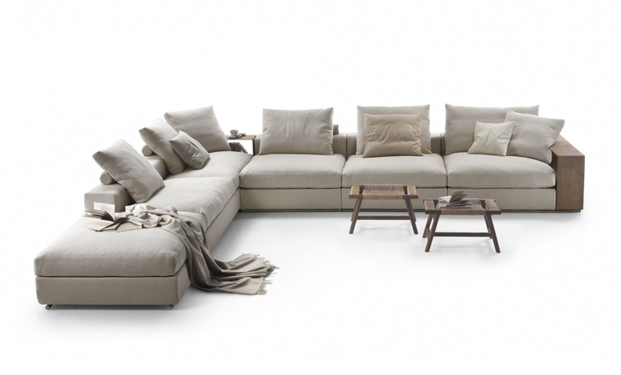 Furniture tufted chaise lounge with ottoman chaise lounge head