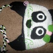 Panda Hat - via @Craftsy