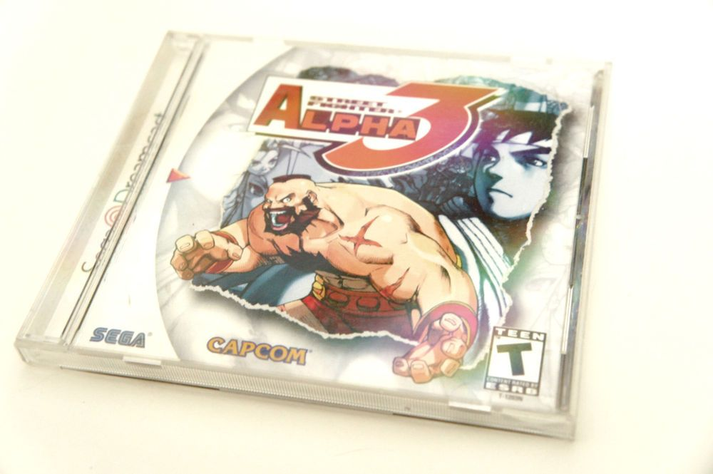 Street Fighter Alpha 3 (Sega Dreamcast, 2000)