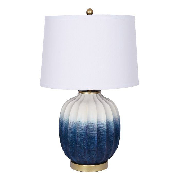 Catalina Lighting Dawson 29 25 Table Lamp Without Bulb Wayfair Ceramic Table Lamps Table Lamp Blue Table Lamp