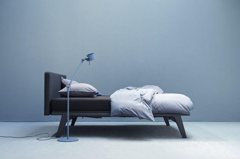 Auping original bed met hoofdbord stof perscentrum wonen beds