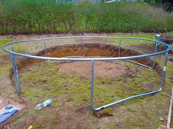 Hudora Gartentrampolin Fitness 300 Test Garten Kids In 2020 Gartentrampolin Trampolin Garten