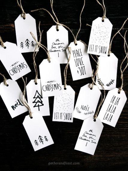 Photo of Free Christmas Gift Tags