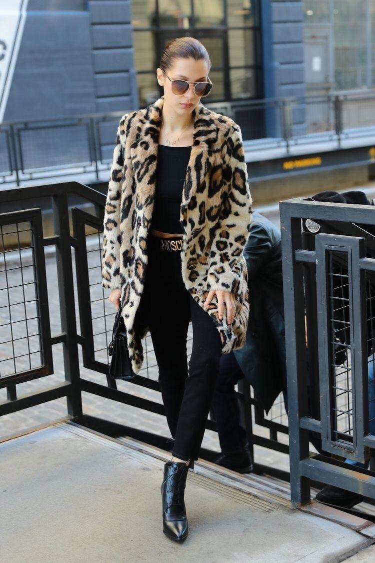 9020f587cfb Cómo llevar el abrigo de leopardo esta temporada