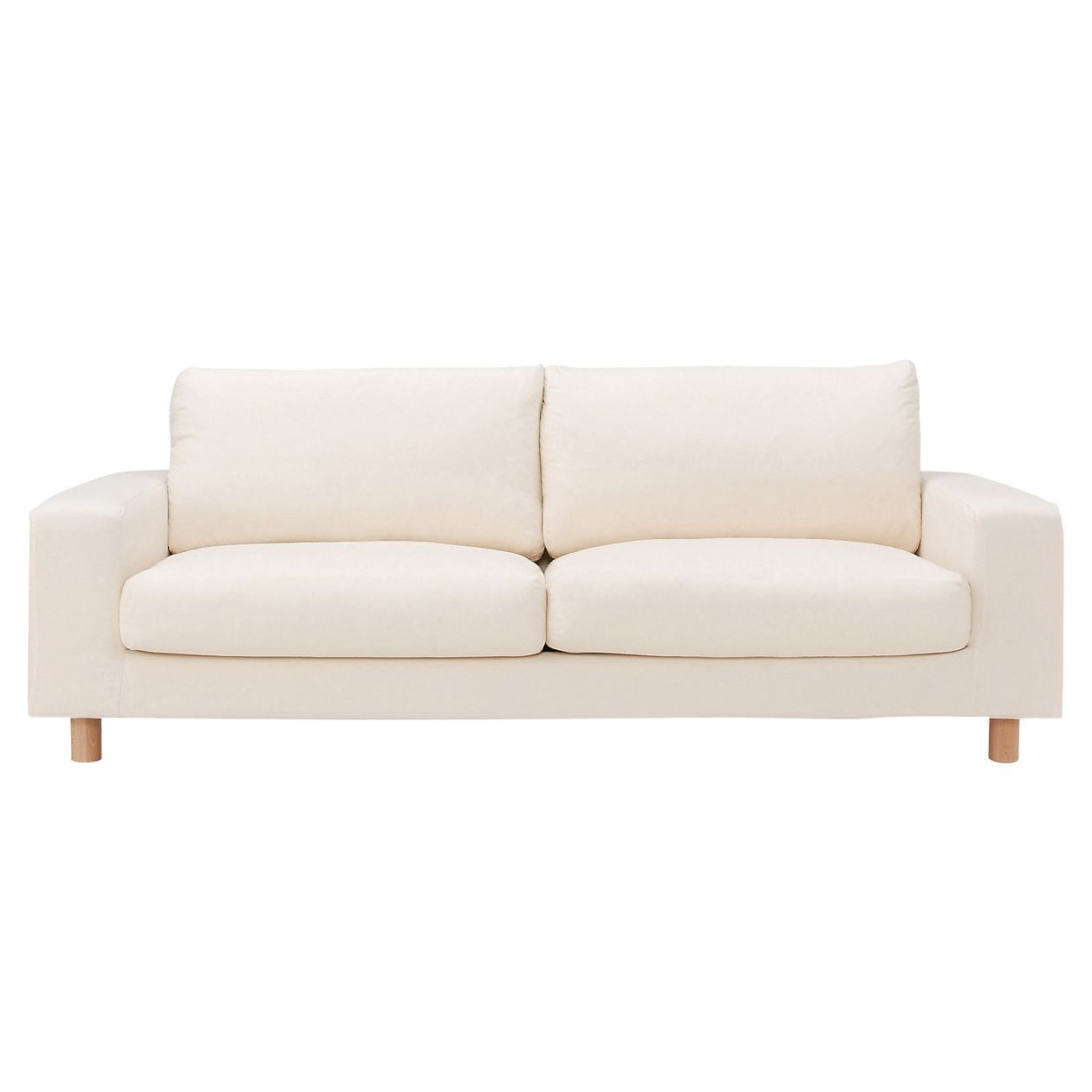 Feather Cushion Sofa Wide Arm 2 5 Seater Cover And Legs Sold