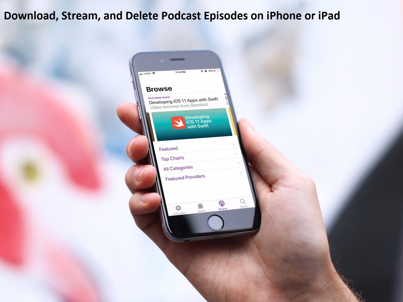 How to Download, Stream, and Delete Podcast Episodes on