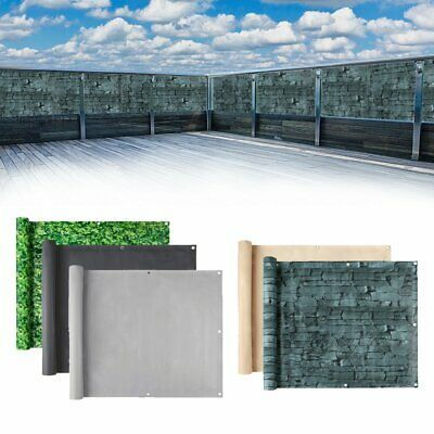 Sichtschutz PVC Doppelstabmatten Zaunfolie Windschutz