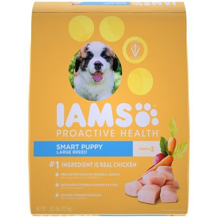 Iams Proactive Health Smart Puppy Large Breed Dry Dog Food Chicken
