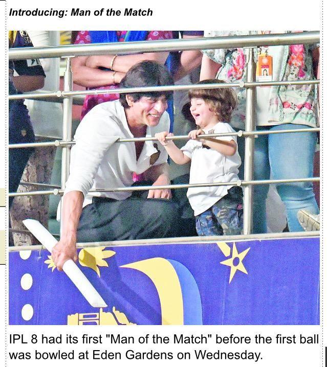 The Telegraph Calcutta - Introducing: Man of the Match http://www.telegraphindia.com/1150409/jsp/frontpage/story_13599.jsp#.VSWxgHvXsoM…  #AbRamAtEden